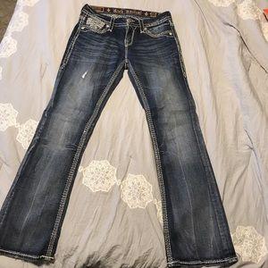 Denim - Rock revival boot cut jean
